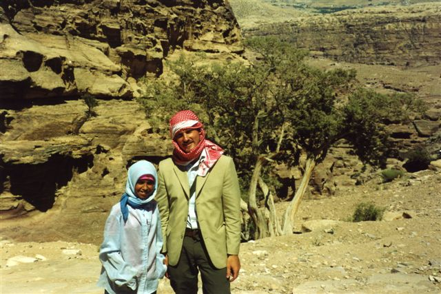 Veith in Jordanian Desert